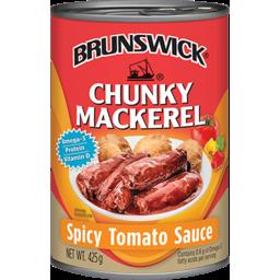 Photo of Brunswick Chunky Mackerel Spicy Tom Sauce