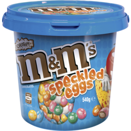 Photo of M&M's Crispy Speckled Eggs 540g Bucket