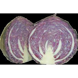 Photo of Cabbage Nz Red Half