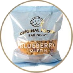 Photo of Original Foods Muffin Blueberry 140g