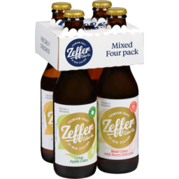 Photo of Zeffer Cider Co Zeffer Mixed Four Pack Cider 330ml