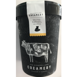 Photo of Van Diemens Land Creamery Salted Caramel 1L