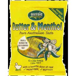 Photo of Aussie Drops Butter Menthol Sh 150gm