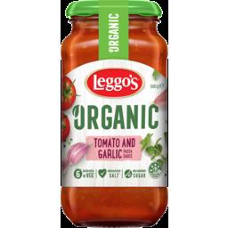 Photo of Leggos Organic Tomato & Garlic Pasta Sauce 500g