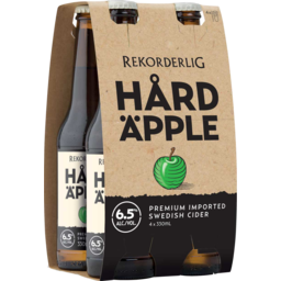 Photo of Rekorderlig Hard Apple 6.5% Cider Bottles