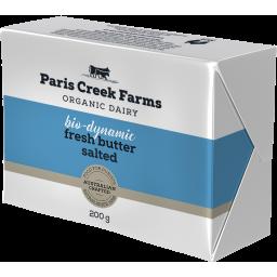 Photo of Paris Creek Farms Bio-Dynamic Butter Salted