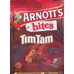 Photo of Arnott's Bites Tim Tam Original Twins 20 Pack 170g