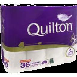 Photo of Quilton Toilet Roll White 3ply 36pk