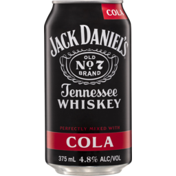 Photo of Jack Daniel & Cola Can