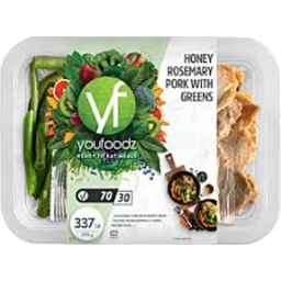 Photo of Youfoodz Honey & Rosemary Pork 295g