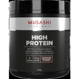 Photo of Musashi High Protein Powder Chocolate Milkshake 375g