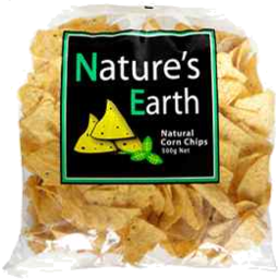 Photo of Nature's Earth Corn Chips Unsalted 500gm