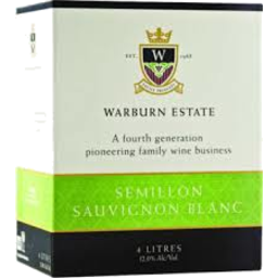 Photo of Warburn Premium Semillon Sauvignon Blanc
