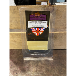 Photo of Coombe Castle Mature Cheddar Slices 200g