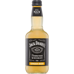 Photo of Jack Daniel & Ginger Beer Bottles
