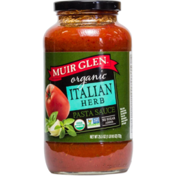Photo of Muir Glen Pasta Sauce - Italian Herb