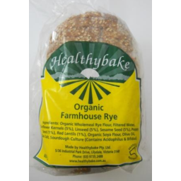 Photo of H/Bake Org Farmhouse Rye 600gm