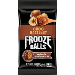 Photo of Frooze Balls Choc Hazelnut 5 Pack 70g