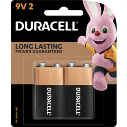 Photo of Duracell Coppertop Batteries 2x9