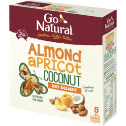 Photo of Go Natural 5 Pack Almond & Apricot 175gm