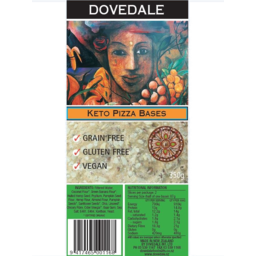Photo of Dovedale Keto Pizza Bases 350g