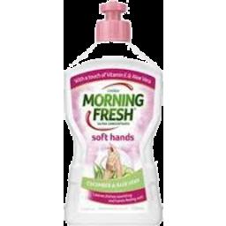 Photo of Morning Fresh Soft Hands Cucumber & Aloe Vera 350ml