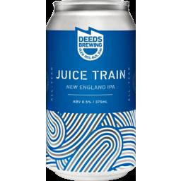 Photo of Quiet Deeds Juice Train New England Ipa Can