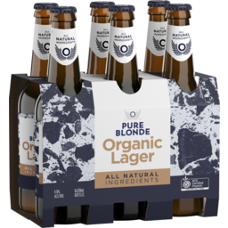 Photo of Pure Blonde Organic Lager Stubbies