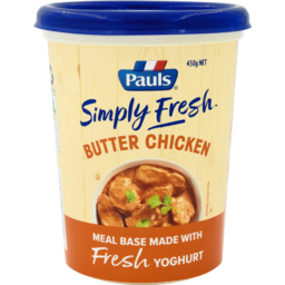 Photo of Pauls Simply Fresh Butter Chicken 450gm