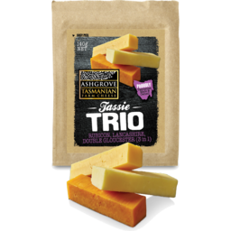 Photo of Ashgrove Cheese Tassie Trio Cheddar 140g