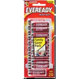 Photo of Eveready Red Heavy Duty AA 20pk