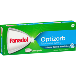 Photo of Panadol Optizorb 20 Caplets