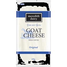 Photo of Meredith Dairy Goat Cheese Fresh Chevre Original 150g