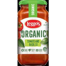 Photo of Leggos Organic Tomato & Basil Pasta Sauce 500g