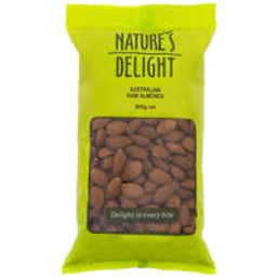 Photo of Natures Almonds 500g