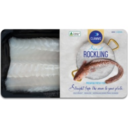 Photo of Clamms Rockling Skin Off 280g