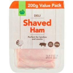 Photo of WW Shaved Ham 200g