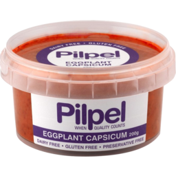Photo of Pilpel Eggplant Capsicium Dip 200gm