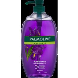 Photo of Palmolive Naturals Anti-Stress Body Wash With Ylang Ylang & Iris 0% Parabens Recyclable 1l