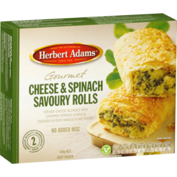 Photo of BORG'S SPINACH & CHEESE ROLLS 400GM