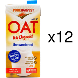 Photo of Pureharvest Oat Milk - Box Of 12