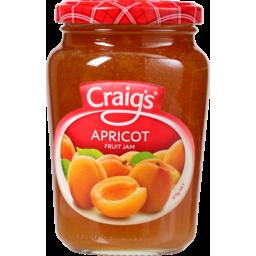 Photo of Craig's Jam Apricot 375g