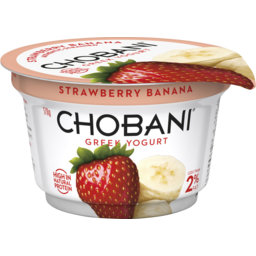 Photo of Chobani Greek Yogurt Strawberry Banana 170g