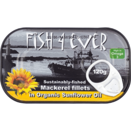 Photo of Fish 4 Ever Mackerel Fillets in Oil