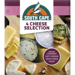 Photo of South Cape 4 Cheeses Selection Platter 435g