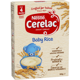 Photo of Nestle Cerelac Infant Cereal Rice With Probiotics 4-6 Months Stage 1 200g