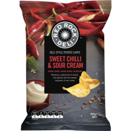 Photo of Red Rock Deli Sweet Chilli & Sour Cream Chips