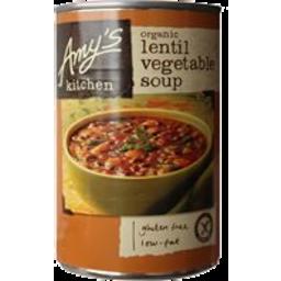 Photo of Amy's Kitchen Organic Soup Lentil Vegetable 411g