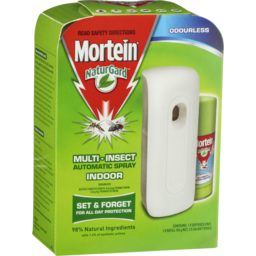 Photo of Mortein Naturgard Automatic Indoor Insect Control System Prime Odourless Multi-Insect Killer 154g