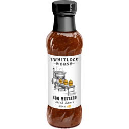 Photo of F Whitlock & Sons BBQ Mustard Thick Sauce 250ml